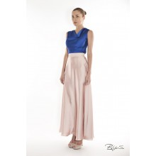 Long silk skirt BYURSE (00041)