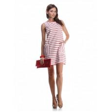 Платье Furla полосатое